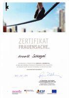 Zertifikat-Frauensache